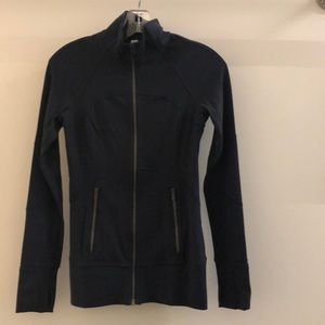 Lululemon navy jacket, sz 4, 63103